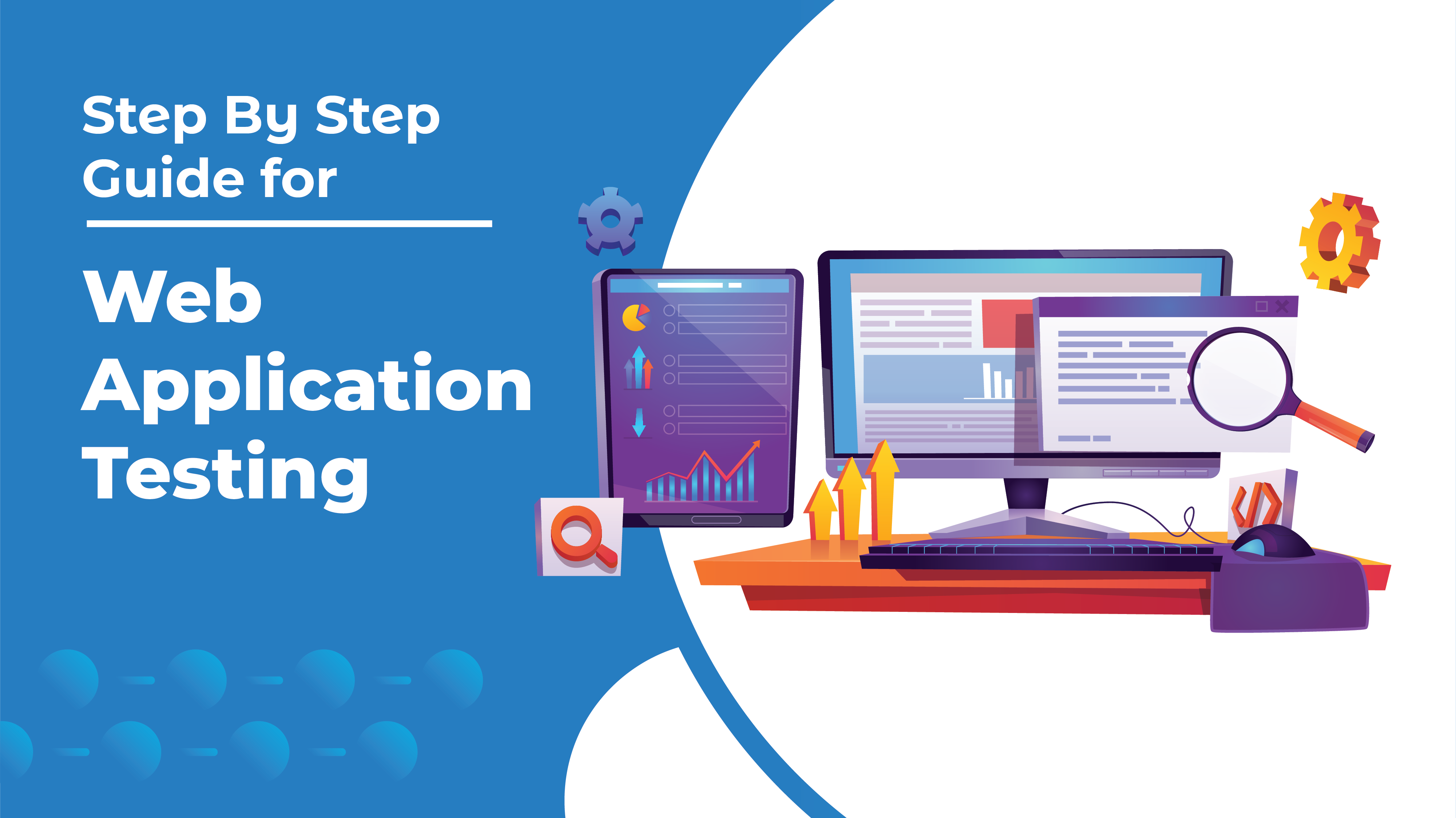 step by step guide for web application testing