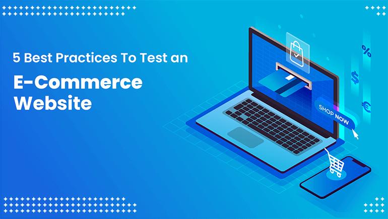 Test an E-Commerce Website